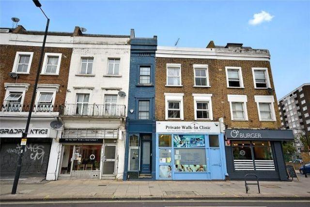 В Лондоне «самый узкий дом» выставили на продажу