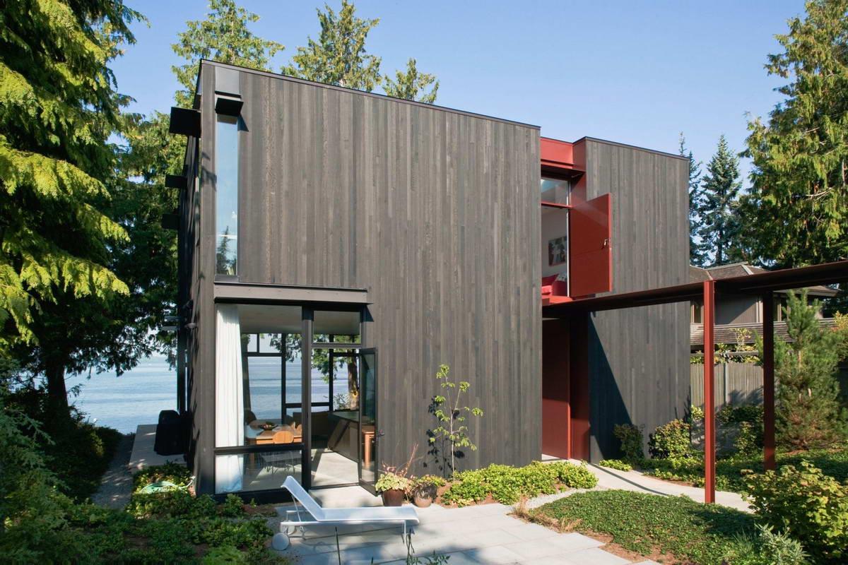 Загородный дом на берегу для отдыха в Сиэтле