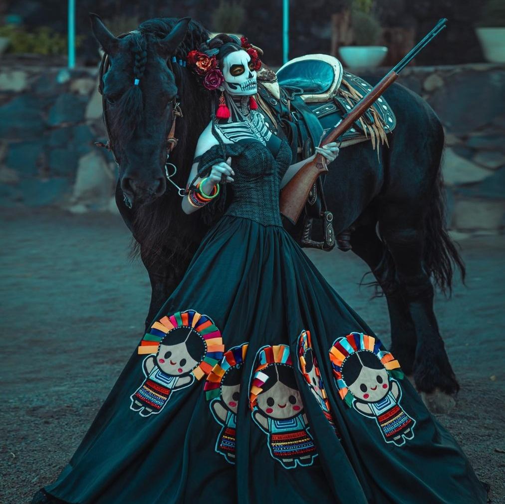 Экстравагантные наряды красоток с конкурса «Мисс Мексика»