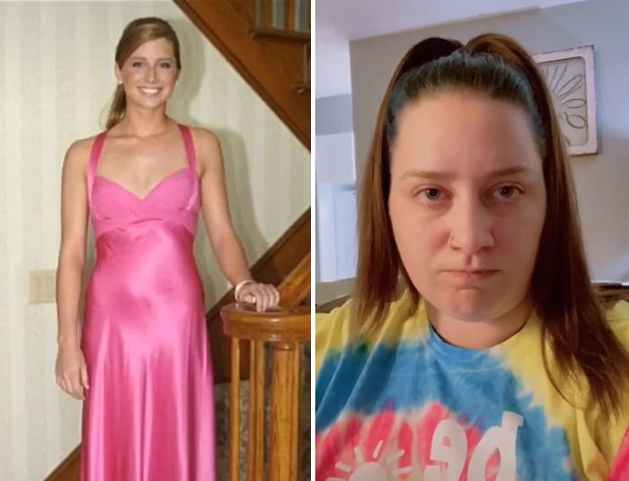 Иногда внешность женщин меняется не в лучшую сторону