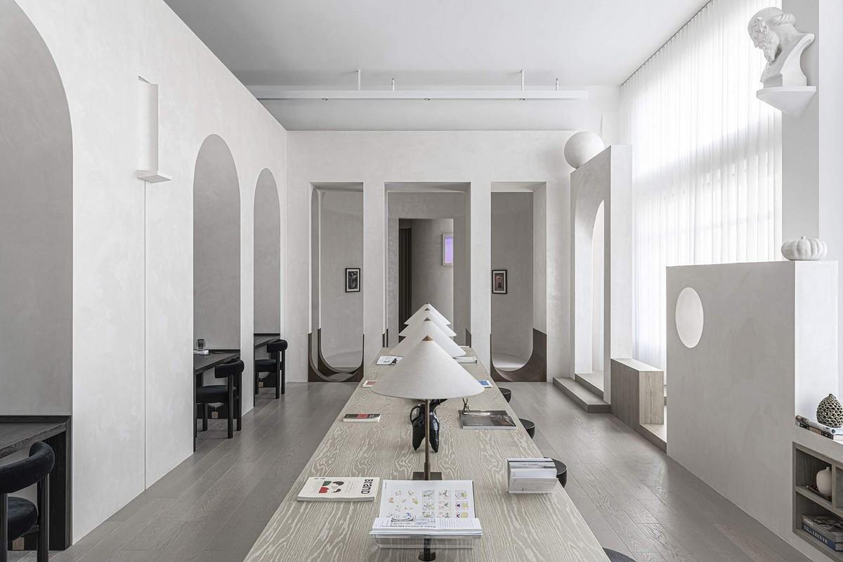Офис дизайнерской компании EVD в Китае