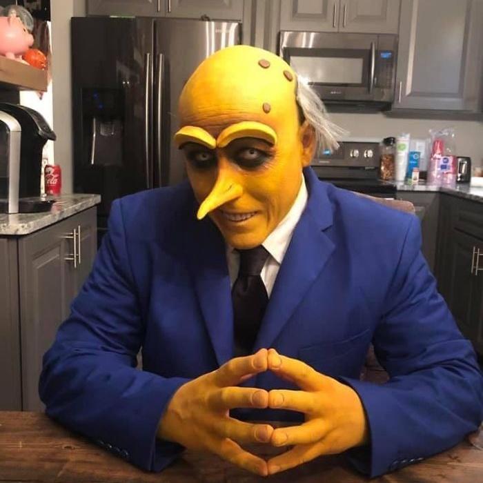 Примеры забавных и интересных костюмов на Хэллоуин