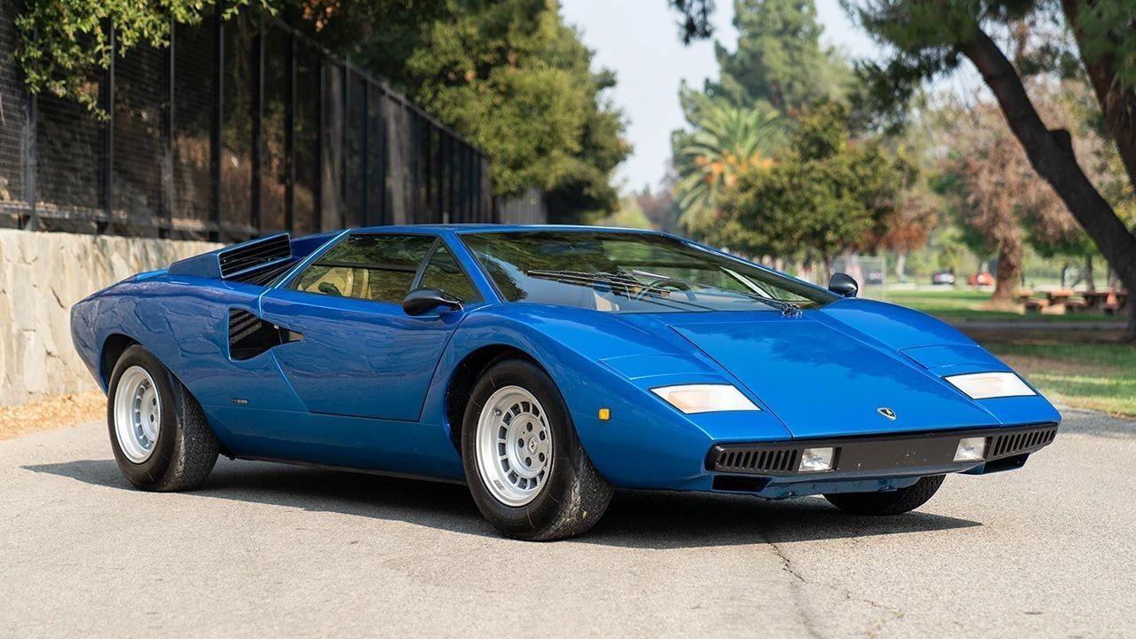 Редкий Lamborghini с «перископом» на крыше