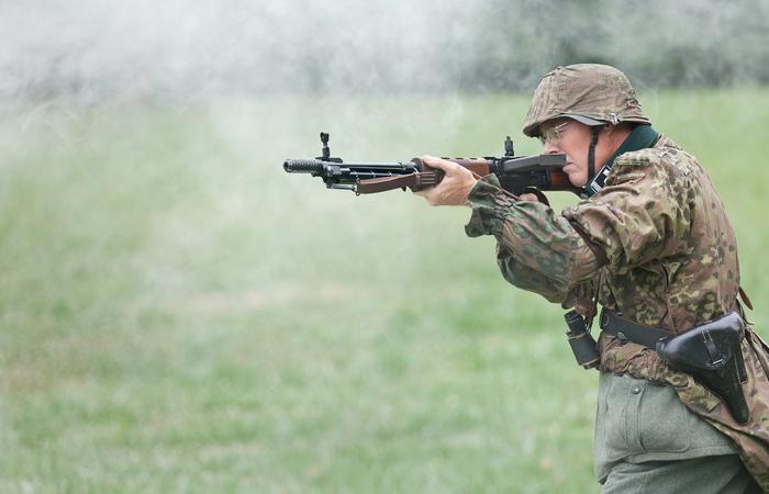 «Снайперский пулемет» парашютистов вермахта