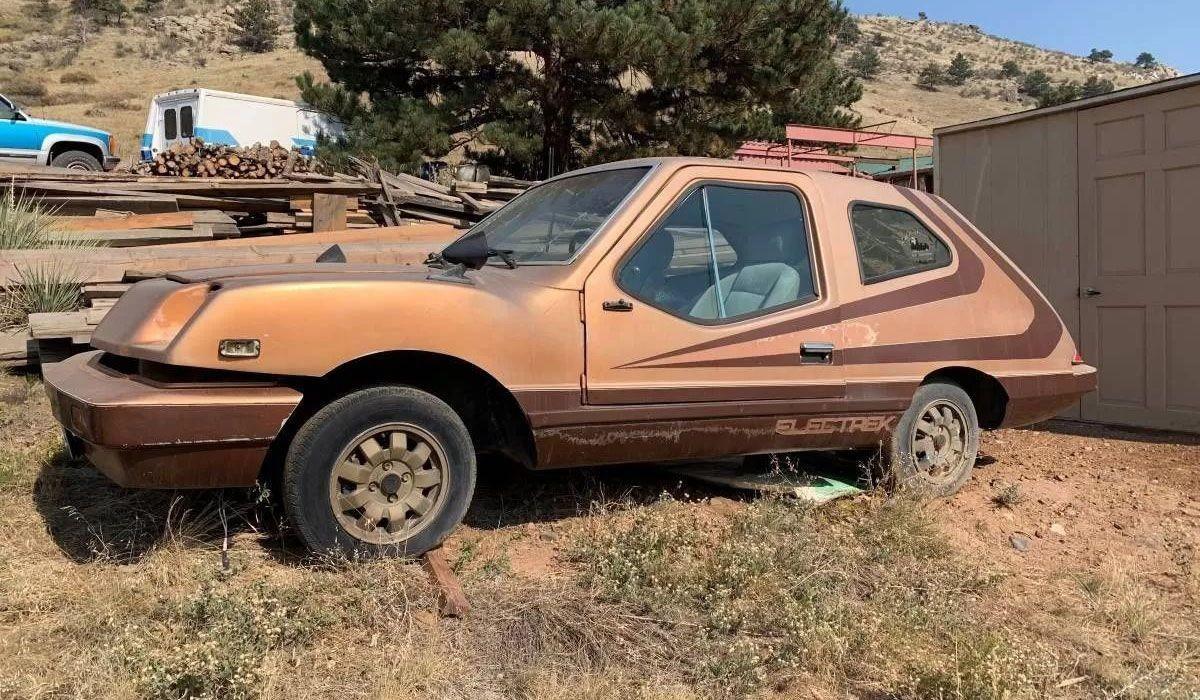 Удивительный электромобиль Electrek Uncar из 1980-х годов