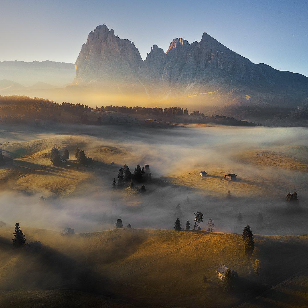 Впечатляющие пейзажные снимки от Федерико Пента