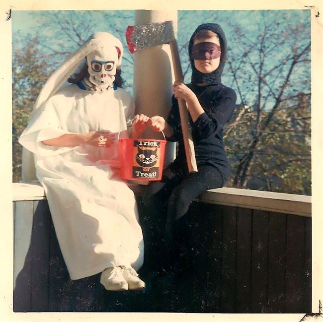 Хэллоуинские костюмы для детей из прошлого