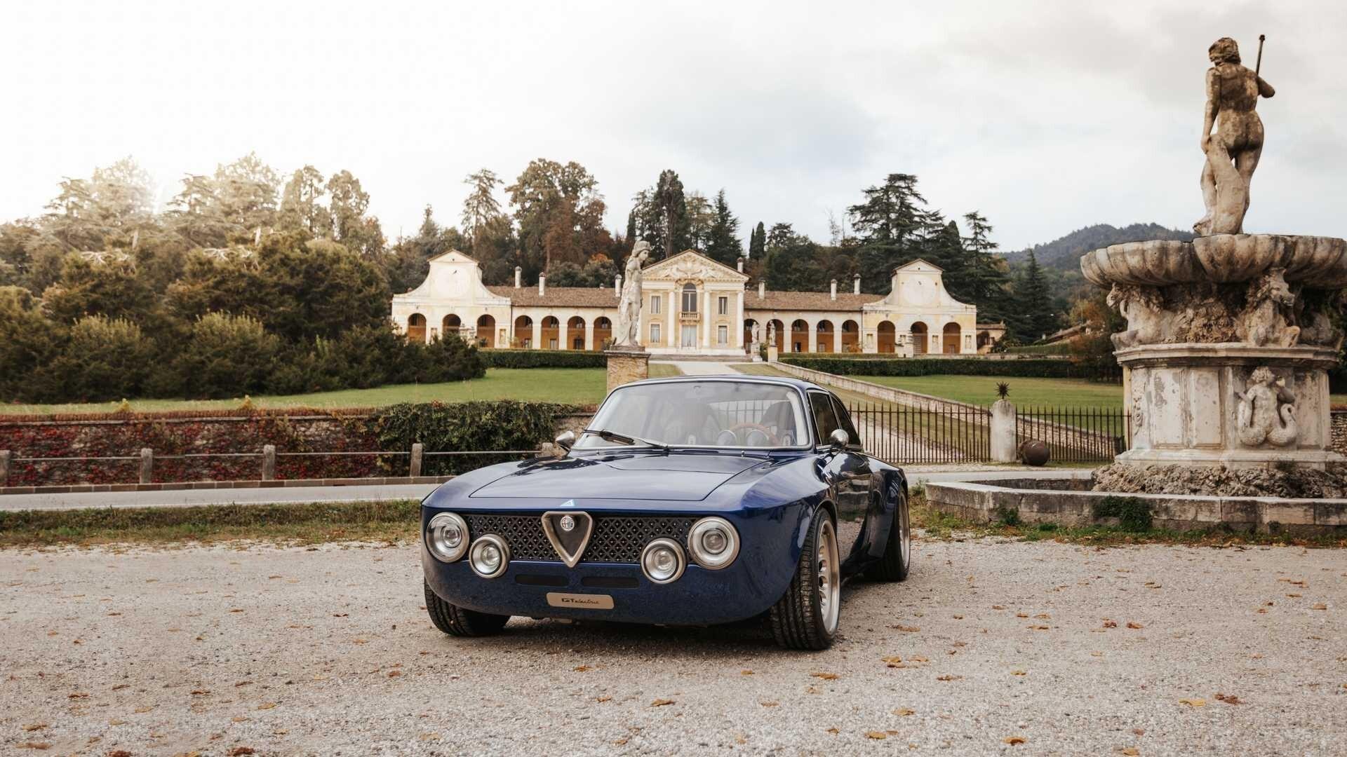 Электрический рестомод Alfa Romeo Giulia GT Junior