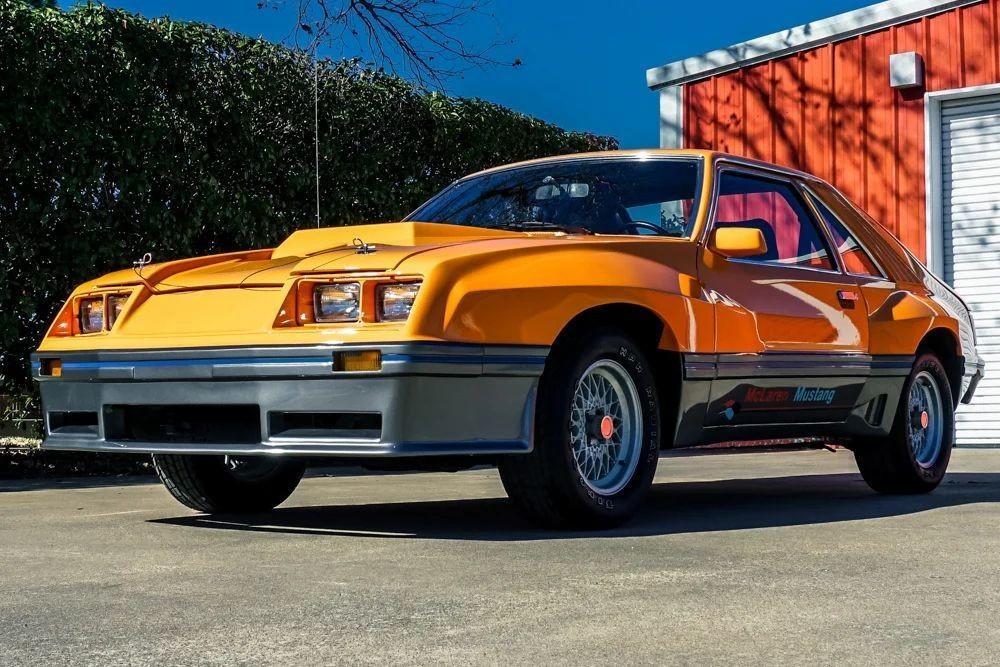 Инженеры McLaren пытались вдохнуть новую жизнь в Ford Mustang в 1980 году