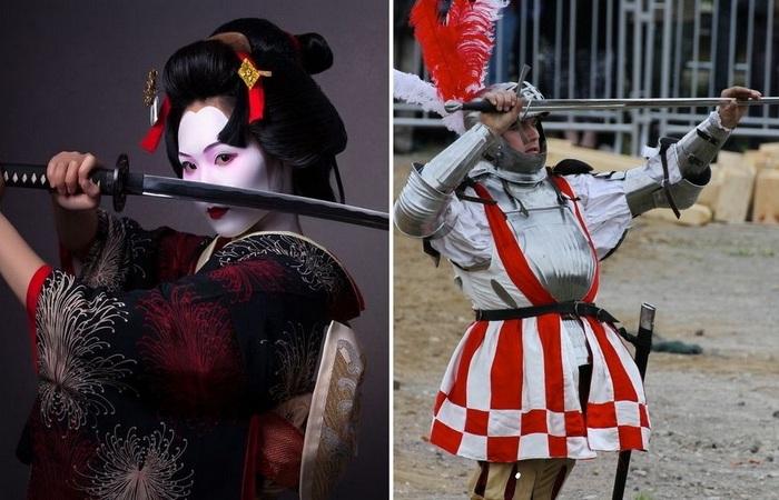 Из-за чего в Японии многие века дрались только катаной