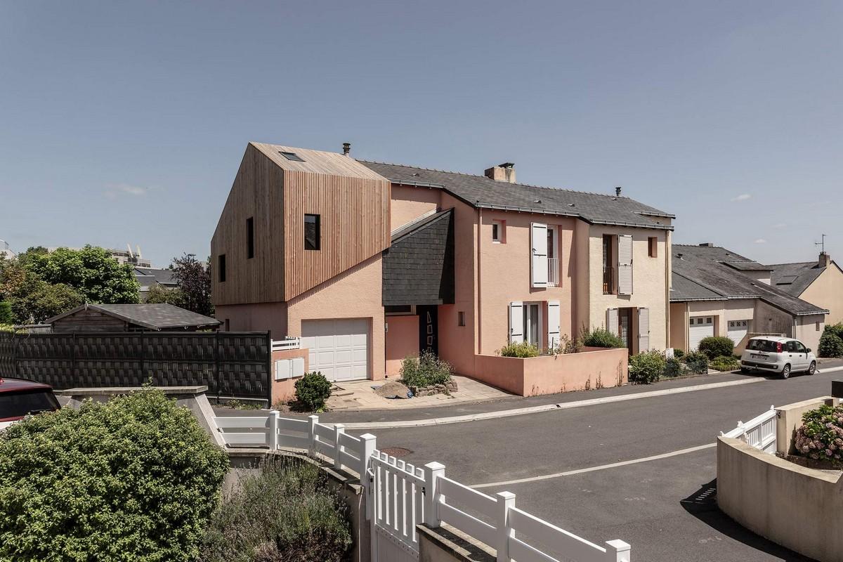 Расширение частного дома во Франции