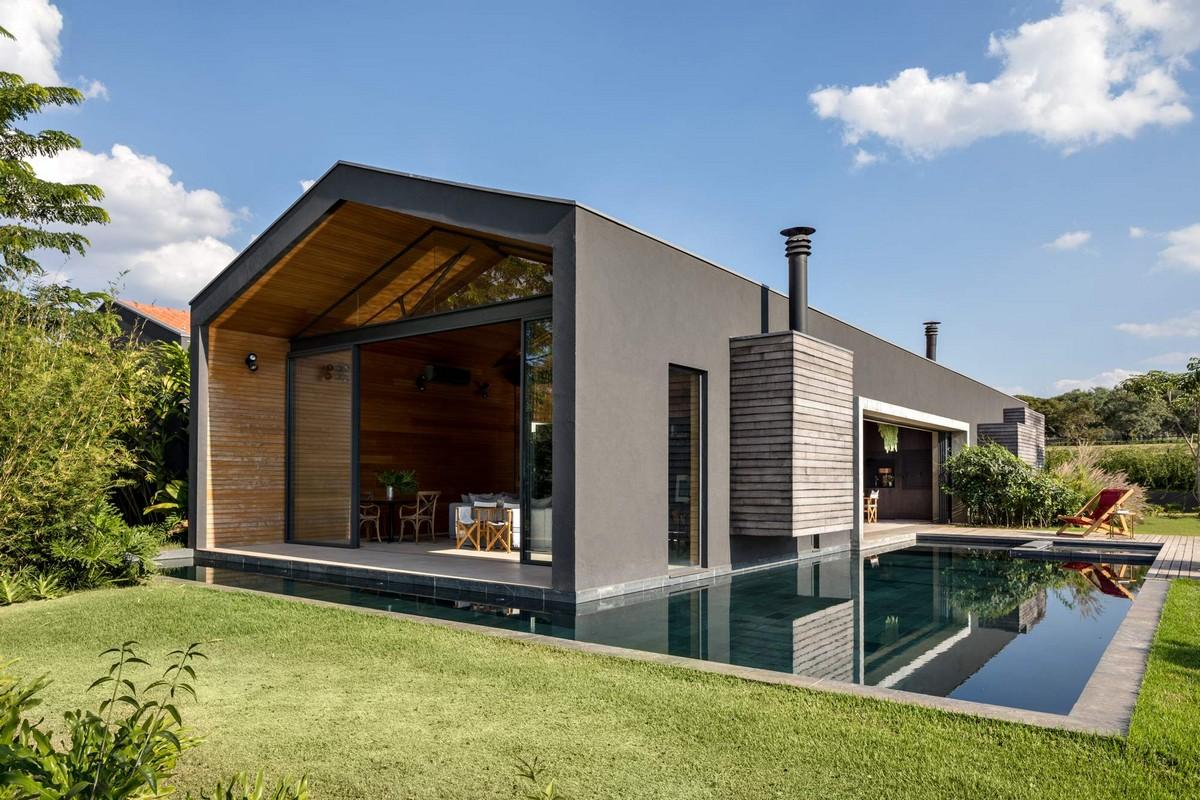 Семейный дом для отдыха на конном ранчо в Бразилии