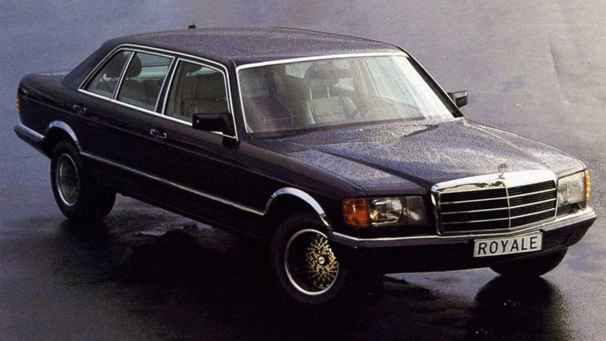 Уникальный лимузин Mercedes-Benz 600 SGS Royale