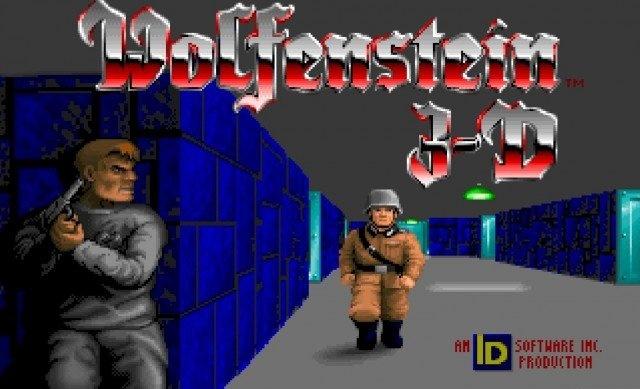 Замок из известной компьютерной игры Wolfenstein