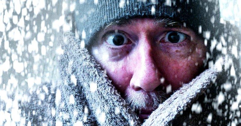 Что может случиться с человеком, который уснул на морозе