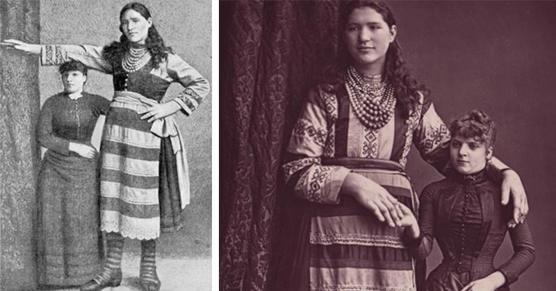 Елизавета Лыско — самая высокая девица в Российской империи