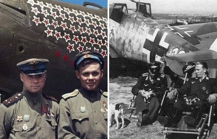 Как немецкие асы якобы сбивали больше самолетов, чем советские летчики
