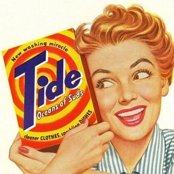 Какой была реклама известных брендов в прошлом