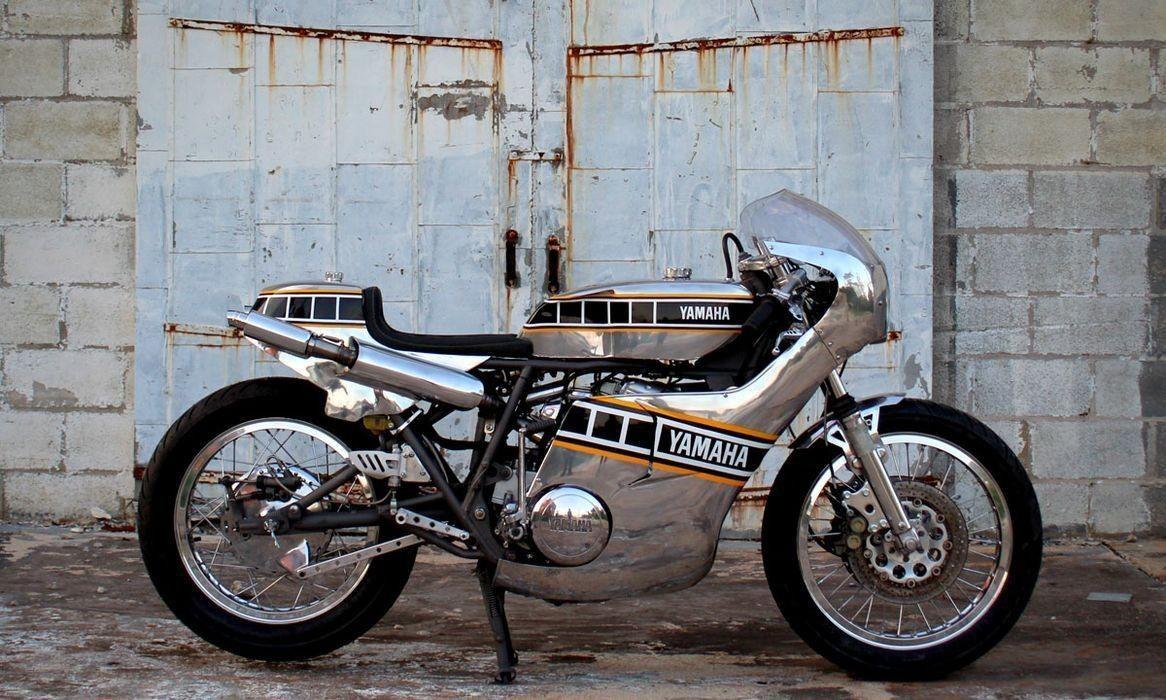 Кастом из мотоцикла Yamaha TX750A 1974 года