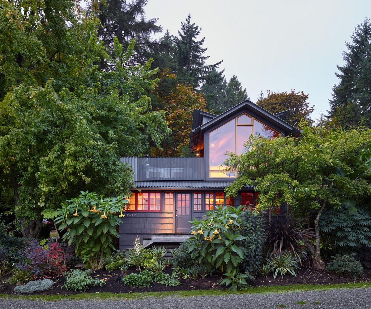 Расширение загородного домика в штате Вашингтон