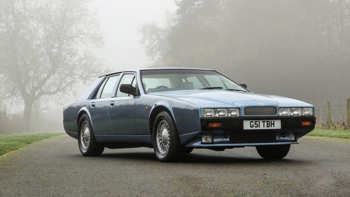 Самый некрасивый автомобиль всех времён Aston Martin Lagonda