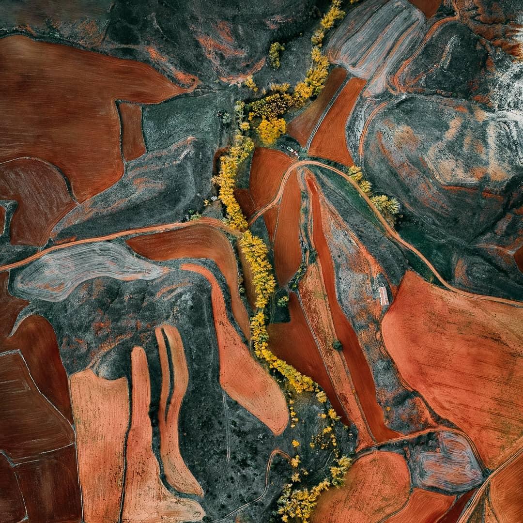 Впечатляющие аэрофотоснимки от Тома Хегена