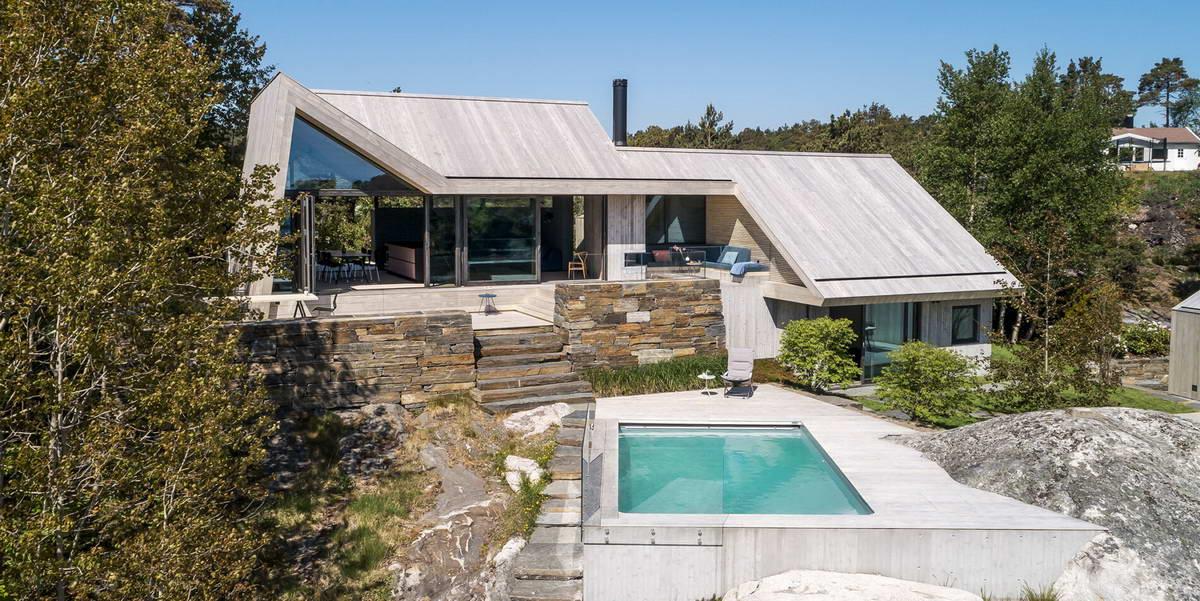 Частная прибрежная резиденция в Норвегии