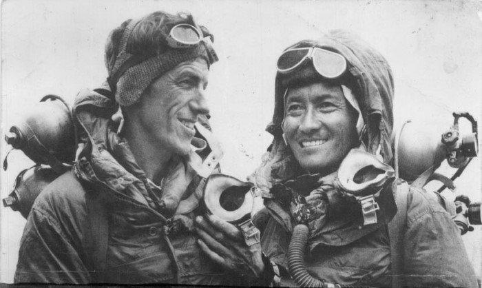 Интересные факты из истории Эвереста