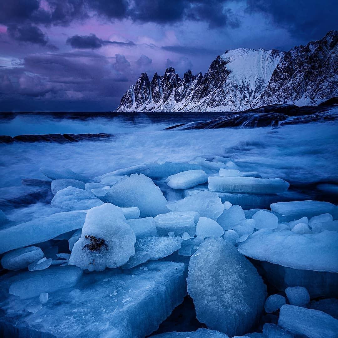 Природа и путешествия на снимках Феликса Индена