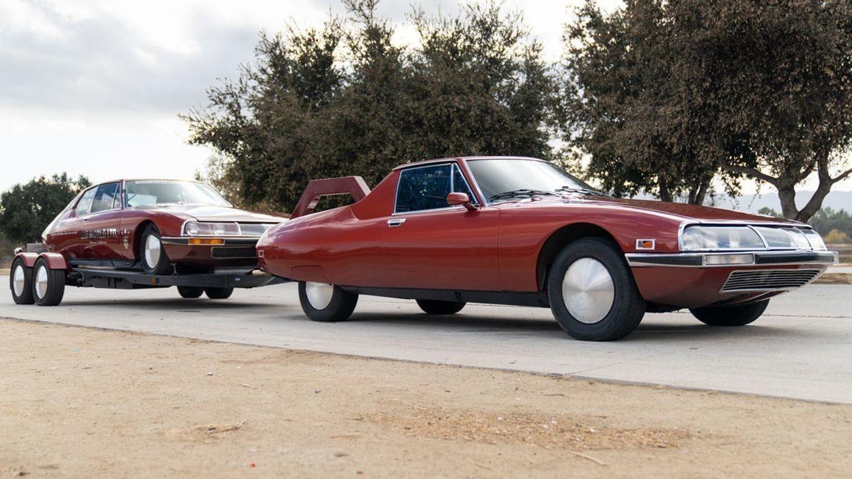Самый быстрый в мире Citroën с тягачом для буксировки