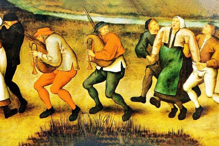 Средневековая эпидемия, из-за которой люди не могли прекратить плясать