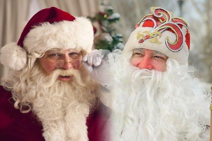 В чем различия между Санта-Клаусом и дедом Морозом