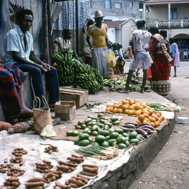 Жизнь на Мадагаскаре в конце 1980-х на снимках