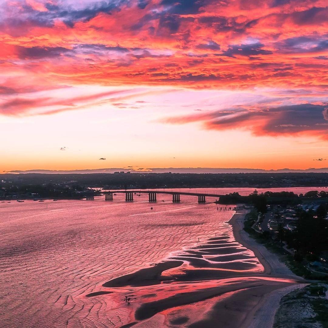 Австралия на снимках с высоты от Дэнни Стоуна