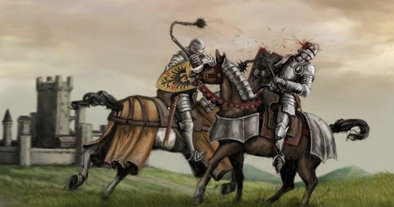 Моргенштерн — примитивное и жуткое оружие Средневековья