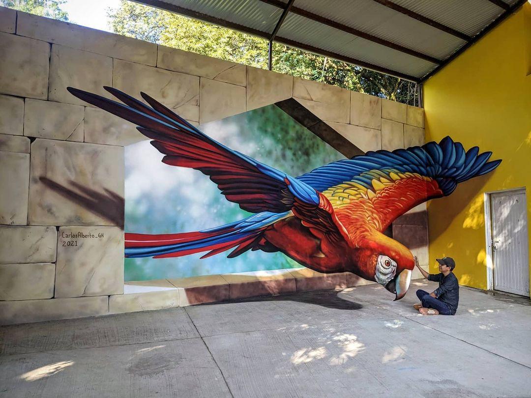 Трёхмерные иллюзии от талантливого уличного художника