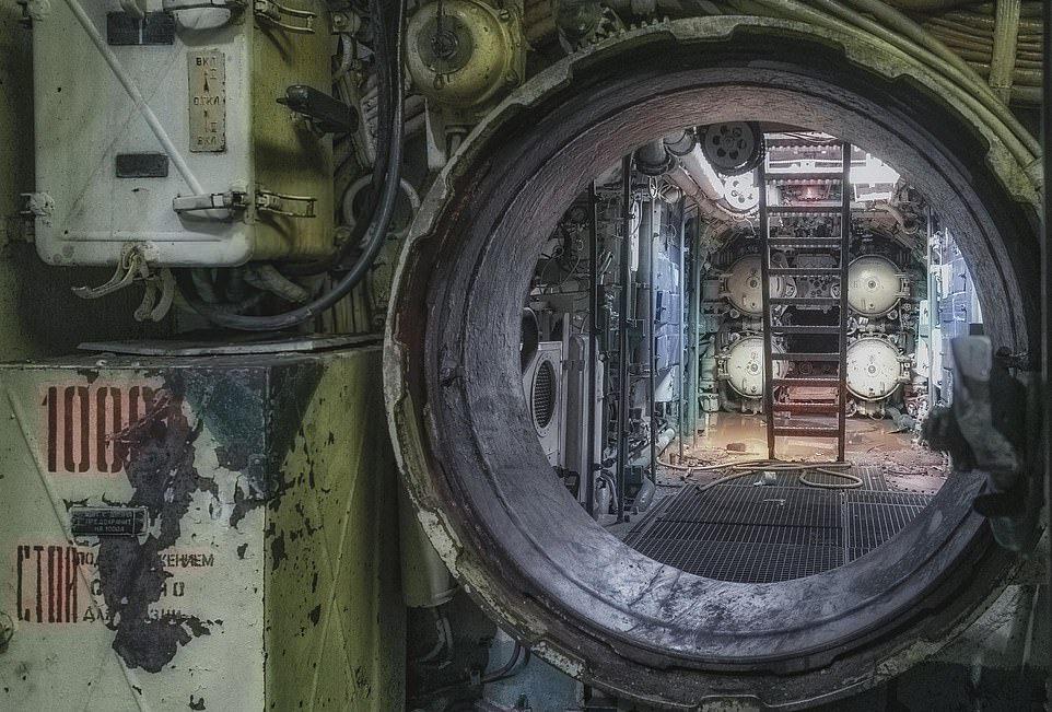 Внутри советской подводной лодки времен Холодной войны