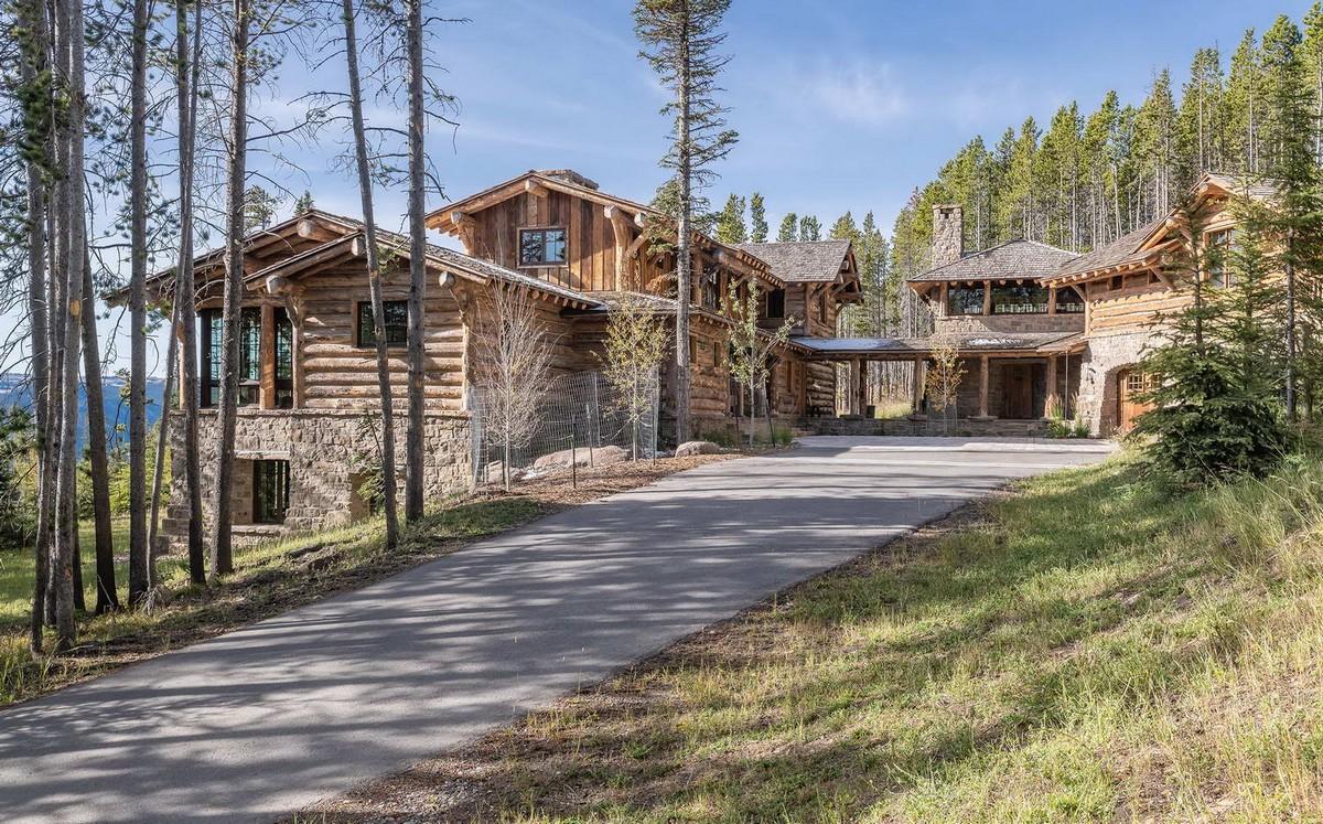 Загородный дом в стиле шале в штате Монтана