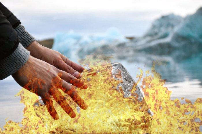 Что за странный горячий лед?