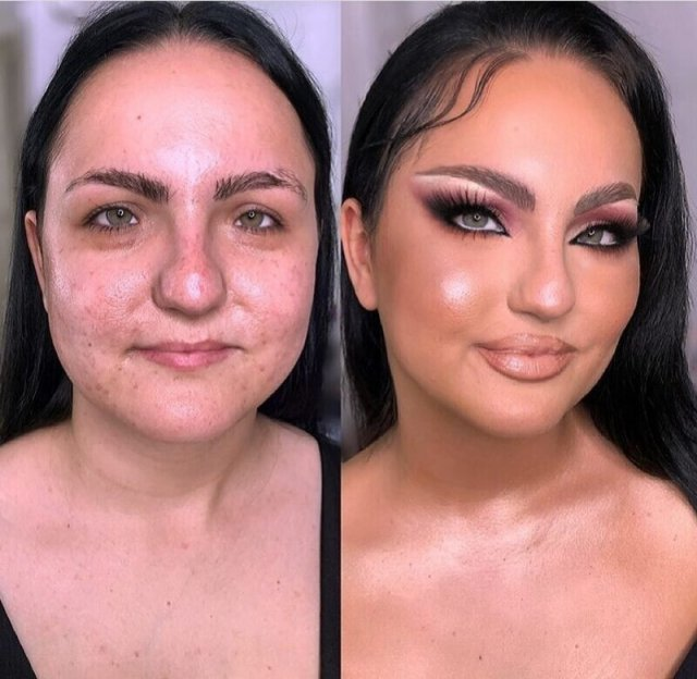 Чудеса и магия макияжа от сербского мастера