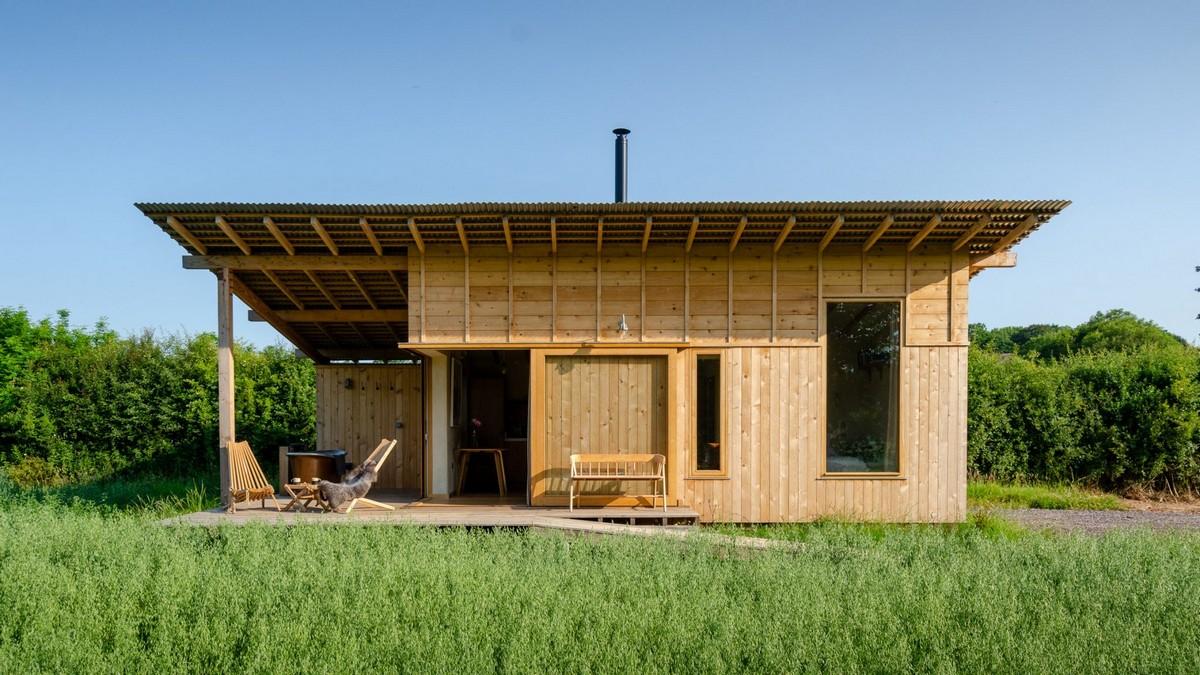 Деревянный домик для отдыха в Англии