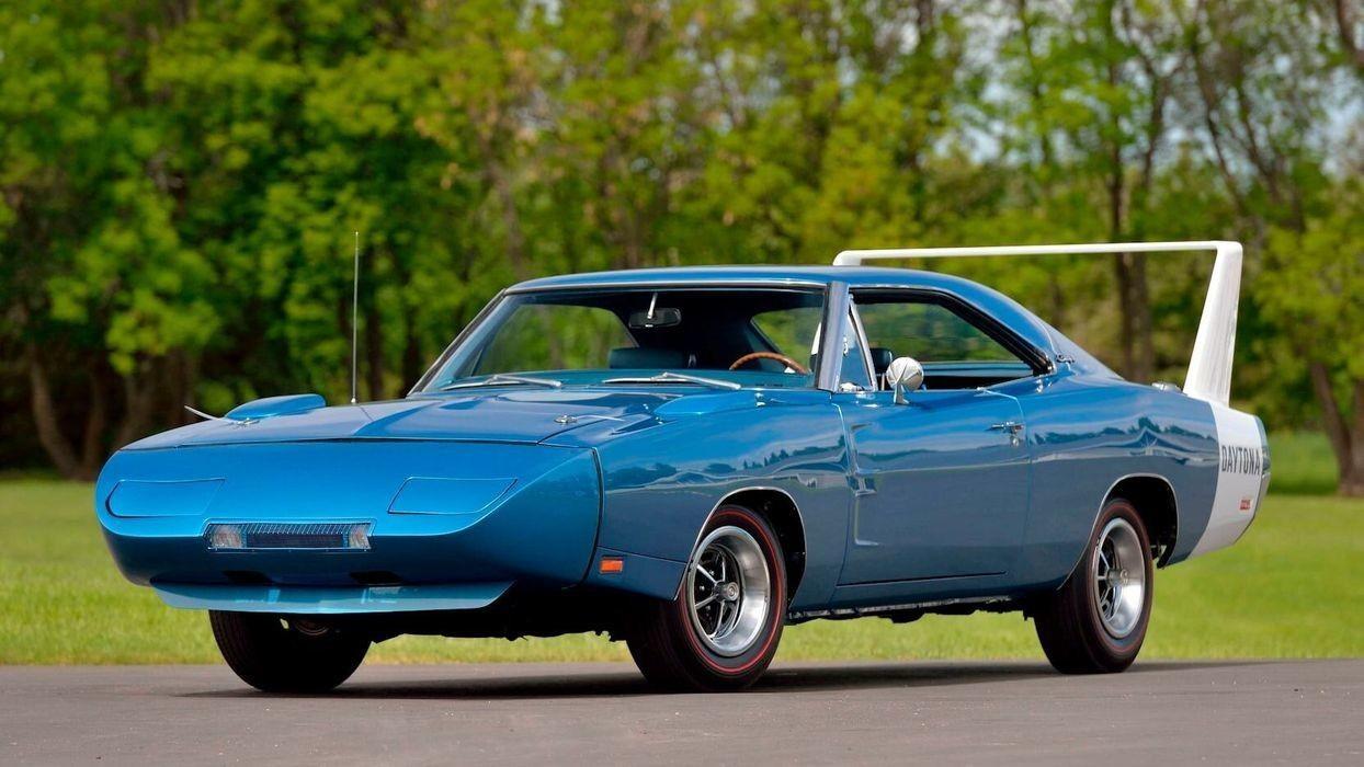 Dodge Charger Daytona 1969, преодолевший рубеж скорости в 200 миль/ч