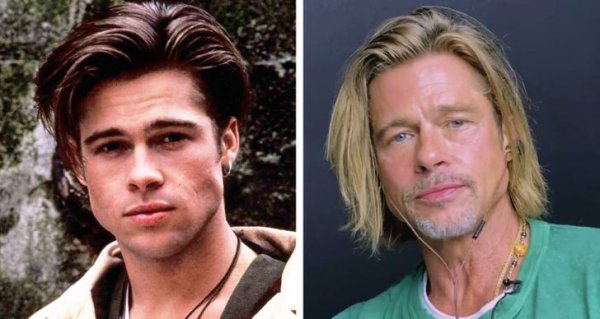Голливудские знаменитости в юные годы и сейчас на снимках