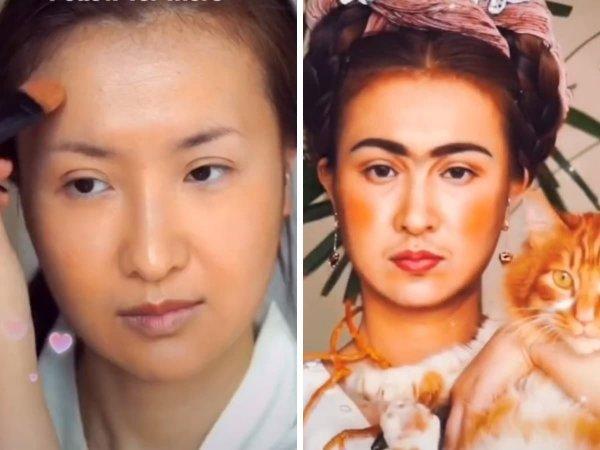 Косплеерша Ширли из Китая может превратиться в любую знаменитость