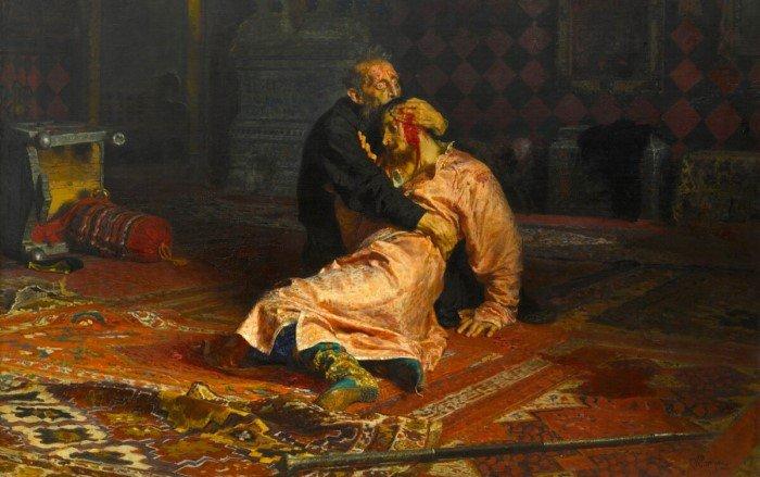 Почему царь Иван Грозный убил своего сына?