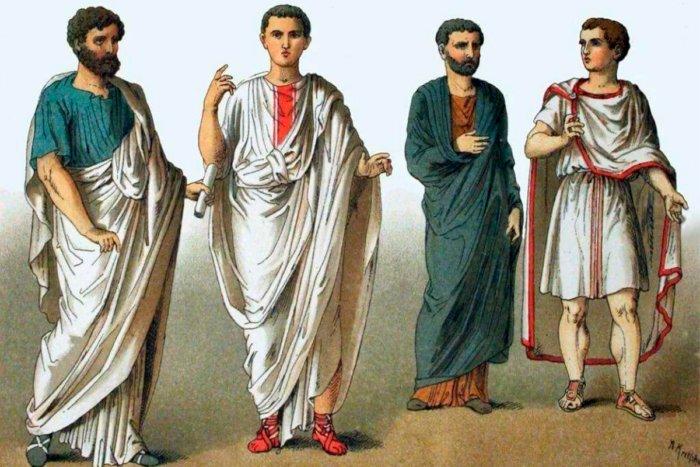 Почему римлянам запрещалось носить брюки и сапоги?