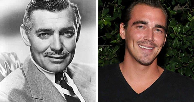 Сравнительные снимки знаменитостей с их внуками и внучками