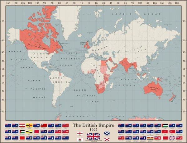 Занимательные карты и интересные географические факты
