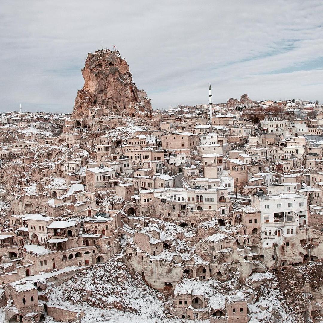 Зимние снимки из путешествий Фиген Кокол