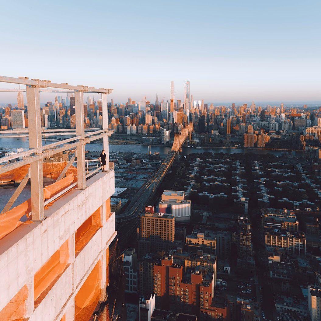 Городские и уличные снимки Нью-Йорка от Лиама Торреса